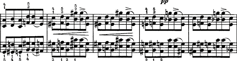 シューマン「ノヴェレッテン第5番ニ長調Op.21-5」ピアノ楽譜13