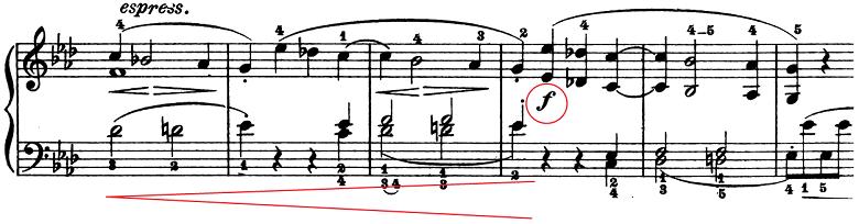ベートーヴェン「ピアノソナタ第1番ヘ短調Op.2-1第1楽章」楽譜3