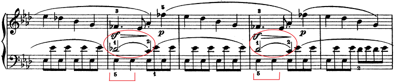 ベートーヴェン「ピアノソナタ第1番ヘ短調Op.2-1第1楽章」楽譜4