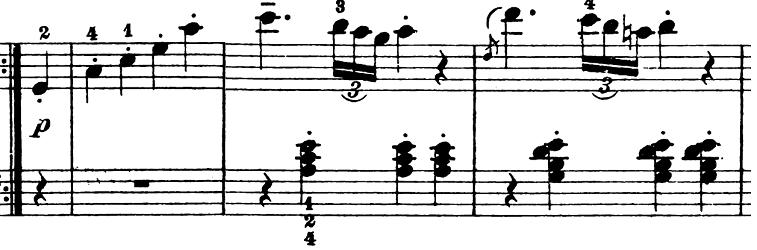 ベートーヴェン「ピアノソナタ第1番ヘ短調Op.2-1第1楽章」楽譜6