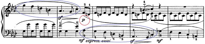 ベートーヴェン「ピアノソナタ第1番ヘ短調Op.2-1第1楽章」楽譜7