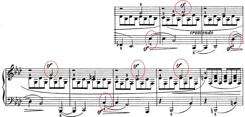 ベートーヴェン「ピアノソナタ第1番ヘ短調Op.2-1第1楽章」楽譜8