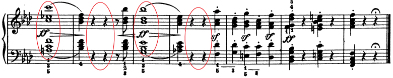 ベートーヴェン「ピアノソナタ第1番ヘ短調Op.2-1第1楽章」楽譜10