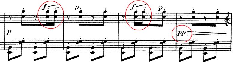 ドビュッシー「子供の領分第6曲「ゴリウォーグのケークウォーク」変ホ長調L.113-6」ピアノ楽譜2
