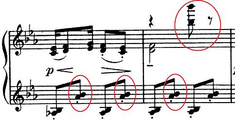 ドビュッシー「子供の領分第6曲「ゴリウォーグのケークウォーク」変ホ長調L.113-6」ピアノ楽譜5