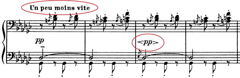 ドビュッシー「子供の領分第6曲「ゴリウォーグのケークウォーク」変ホ長調L.113-6」ピアノ楽譜6