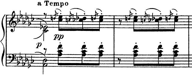 ドビュッシー「子供の領分第6曲「ゴリウォーグのケークウォーク」変ホ長調L.113-6」ピアノ楽譜8