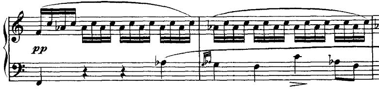 シューベルト「ピアノソナタ第16番イ短調D845,Op.42第1楽章」ピアノ楽譜10