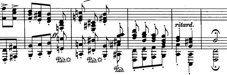 シューマン「ノヴェレッテン第8番嬰ヘ短調Op.21-8」ピアノ楽譜2