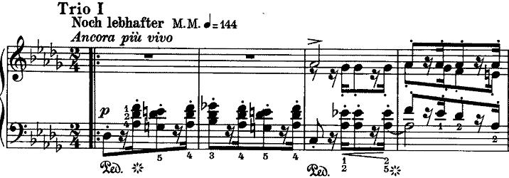 シューマン「ノヴェレッテン第8番嬰ヘ短調Op.21-8」ピアノ楽譜3