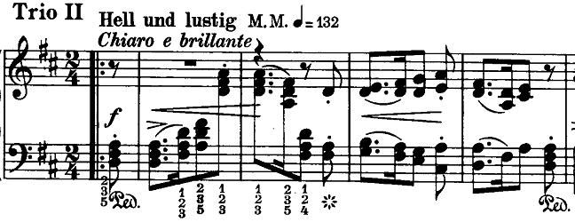 シューマン「ノヴェレッテン第8番嬰ヘ短調Op.21-8」ピアノ楽譜5