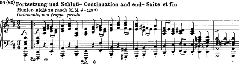 シューマン「ノヴェレッテン第8番嬰ヘ短調Op.21-8」ピアノ楽譜9