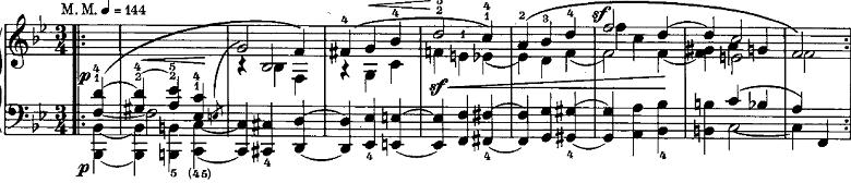 シューマン「ノヴェレッテン第8番嬰ヘ短調Op.21-8」ピアノ楽譜10