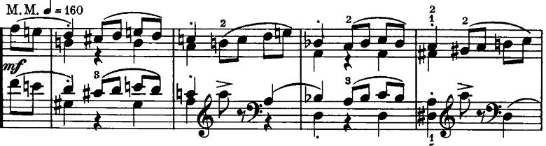シューマン「ノヴェレッテン第8番嬰ヘ短調Op.21-8」ピアノ楽譜12