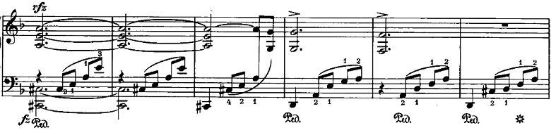 シューマン「ノヴェレッテン第8番嬰ヘ短調Op.21-8」ピアノ楽譜13