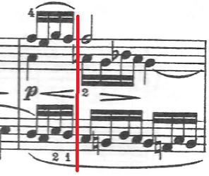バッハ(C.P.E)「アンナ・マクダレーナ・バッハの音楽帳「ポロネーズト短調BWV Ahn.123」」ピアノ楽譜6