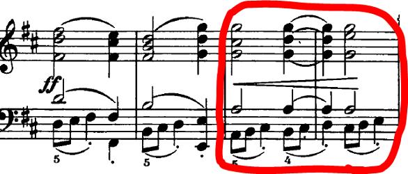 シューマン「ノヴェレッテン第4番ニ長調Op.21-4」ピアノ楽譜2