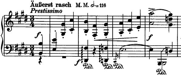 シューマン「ノヴェレッテン第7番ホ長調Op.21-7」ピアノ楽譜