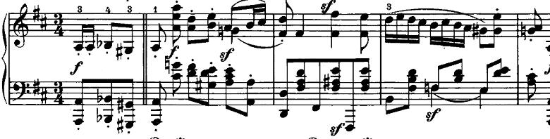 シューマン「ノヴェレッテン第5番ニ長調Op.21-5」ピアノ楽譜