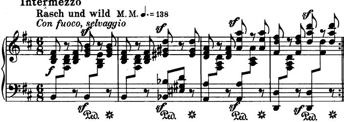 シューマン「ノヴェレッテン第3番ニ長調Op.21-3」ピアノ楽譜2