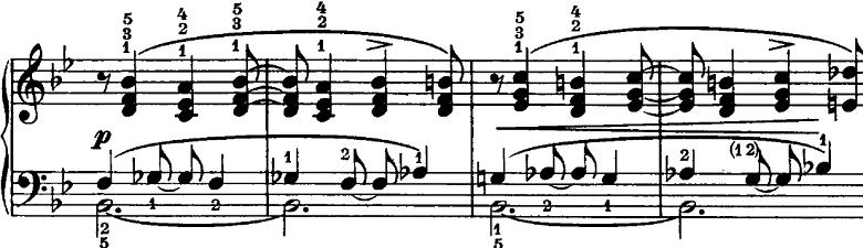 シューマン「ノヴェレッテン第3番ニ長調Op.21-3」ピアノ楽譜3