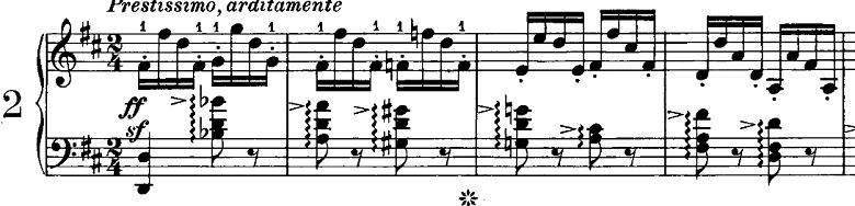 シューマン「ノヴェレッテン第2番ニ長調Op.21-2」ピアノ楽譜