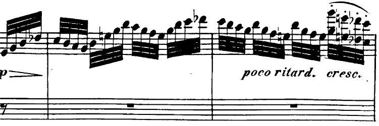 ベートーヴェン「ピアノソナタ第26番「告別」変ホ長調Op.81a第2楽章」楽譜2