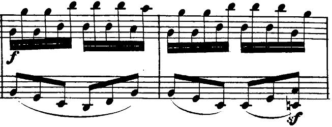 ベートーヴェン「ピアノソナタ第26番「告別」変ホ長調Op.81a第3楽章」楽譜3