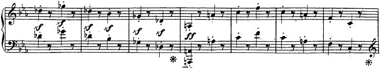 ベートーヴェン「ピアノソナタ第26番「告別」変ホ長調Op.81a第3楽章」楽譜4