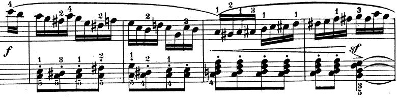 ウェーバー「ピアノソナタ第1番ハ長調Op.24第4楽章「無窮動」」楽譜3