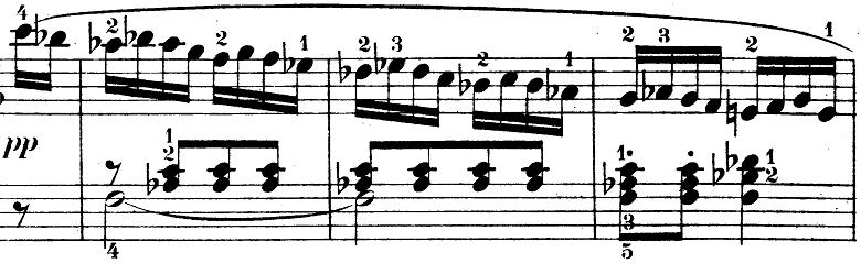 ウェーバー「ピアノソナタ第1番ハ長調Op.24第4楽章「無窮動」」楽譜7