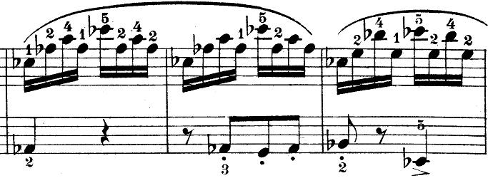 ウェーバー「ピアノソナタ第1番ハ長調Op.24第4楽章「無窮動」」楽譜8