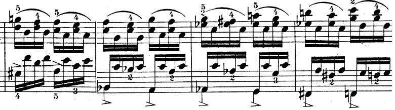 ウェーバー「ピアノソナタ第1番ハ長調Op.24第4楽章「無窮動」」楽譜10
