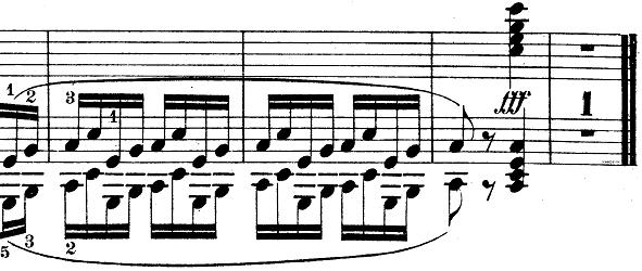 ウェーバー「ピアノソナタ第1番ハ長調Op.24第4楽章「無窮動」」楽譜11