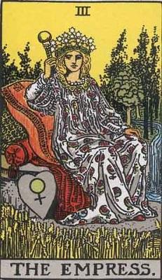 【3番:女帝(The Empress)】・・・愛情、豊かさ