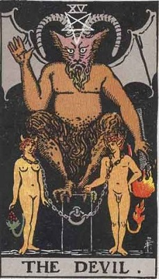 【15番:悪魔(The Devil)】・・・欲望、快楽