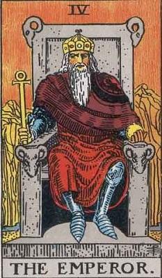 【4番:皇帝(The Emperor)】・・・行動力、積極性