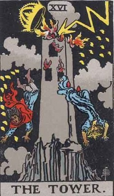 【16番:塔(The Tower)】・・・崩壊、変化