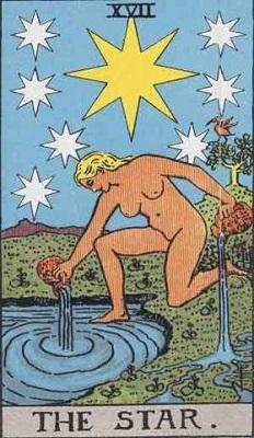 【17番:星(The Star)】・・・希望、期待