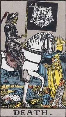 【13番:死神(Death)】・・・終わりと再生