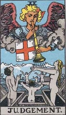 【20番:審判(Judgement)】・・・復活、決断