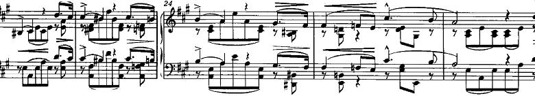 リスト「3つの演奏会用練習曲S.144「第1曲 悲しみ(Il lamento)」」ピアノ楽譜3