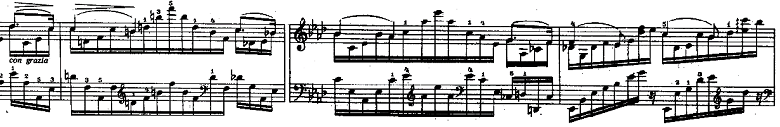 リスト「3つの演奏会用練習曲S.144「第1曲 悲しみ(Il lamento)」」ピアノ楽譜4