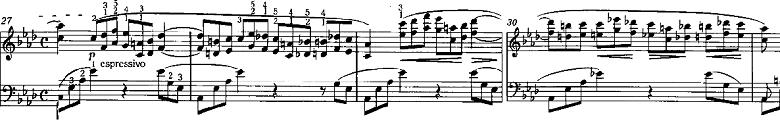 リスト「3つの演奏会用練習曲S.144「第2曲 軽やかさ(La leggierezza)」」ピアノ楽譜2