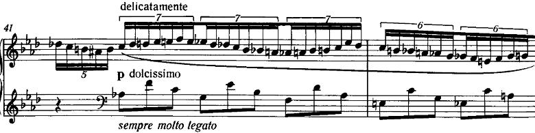 リスト「3つの演奏会用練習曲S.144「第2曲 軽やかさ(La leggierezza)」」ピアノ楽譜3