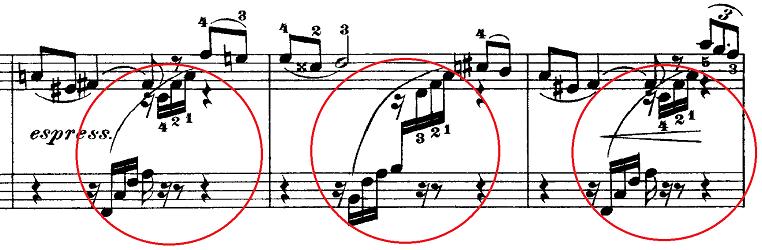 チャイコフスキー「四季11月「トロイカ」ホ長調」ピアノ楽譜2