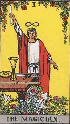 カード②「魔術師・正位置」