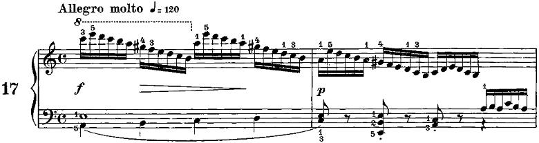 ツェルニー「50番練習曲Op.740」ピアノ楽譜3