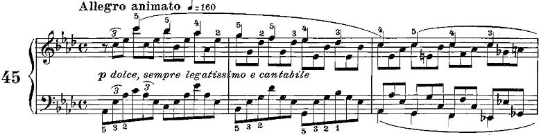 ツェルニー「50番練習曲Op.740」ピアノ楽譜5