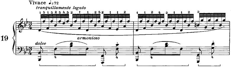 ツェルニー50番練習曲ピアノ楽譜3
